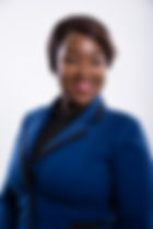 Gloria Ntaba-Receptionist and Office Adm