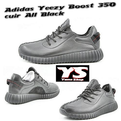 Adidas Boost Yeezy 350 V2 Noir Blanc Achat