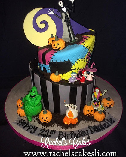 rachels cakes of smithtown long island adult nightmare before christmas sheet cake homemade nightmare before christmas birthday