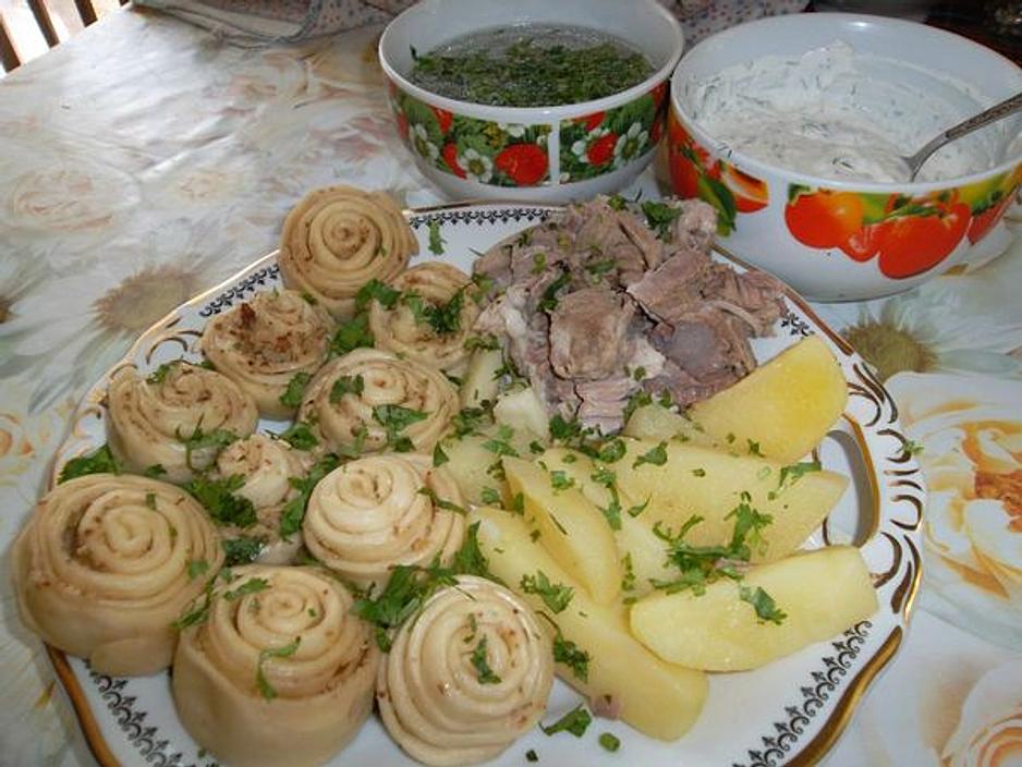 Хинкал дагестанский рецепт с фото с курицей
