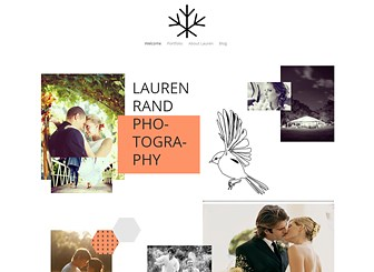 Romantic Photography Template - A romantic theme featuring chic design and a modern layout. Showcase your photography skills in the multiple galleries and update the Blog page to keep visitors informed of your latest activities. Create an online portfolio and watch your client base grow.