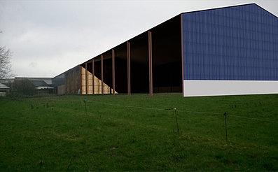 Permis de construire b timent agricole et industriel dans for Plan hangar agricole