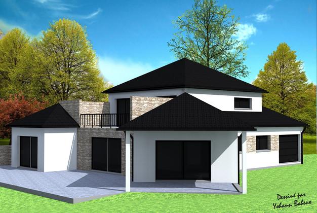 Maison moderne sur sous-sol | Yohann Baheux, Maître d\'oeuvre ...