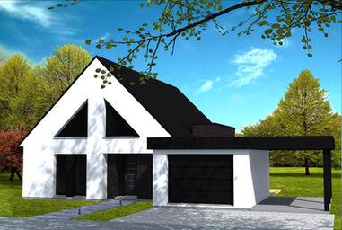 plan de maison yohann baheux ma tre d 39 oeuvre nord pas de calais. Black Bedroom Furniture Sets. Home Design Ideas