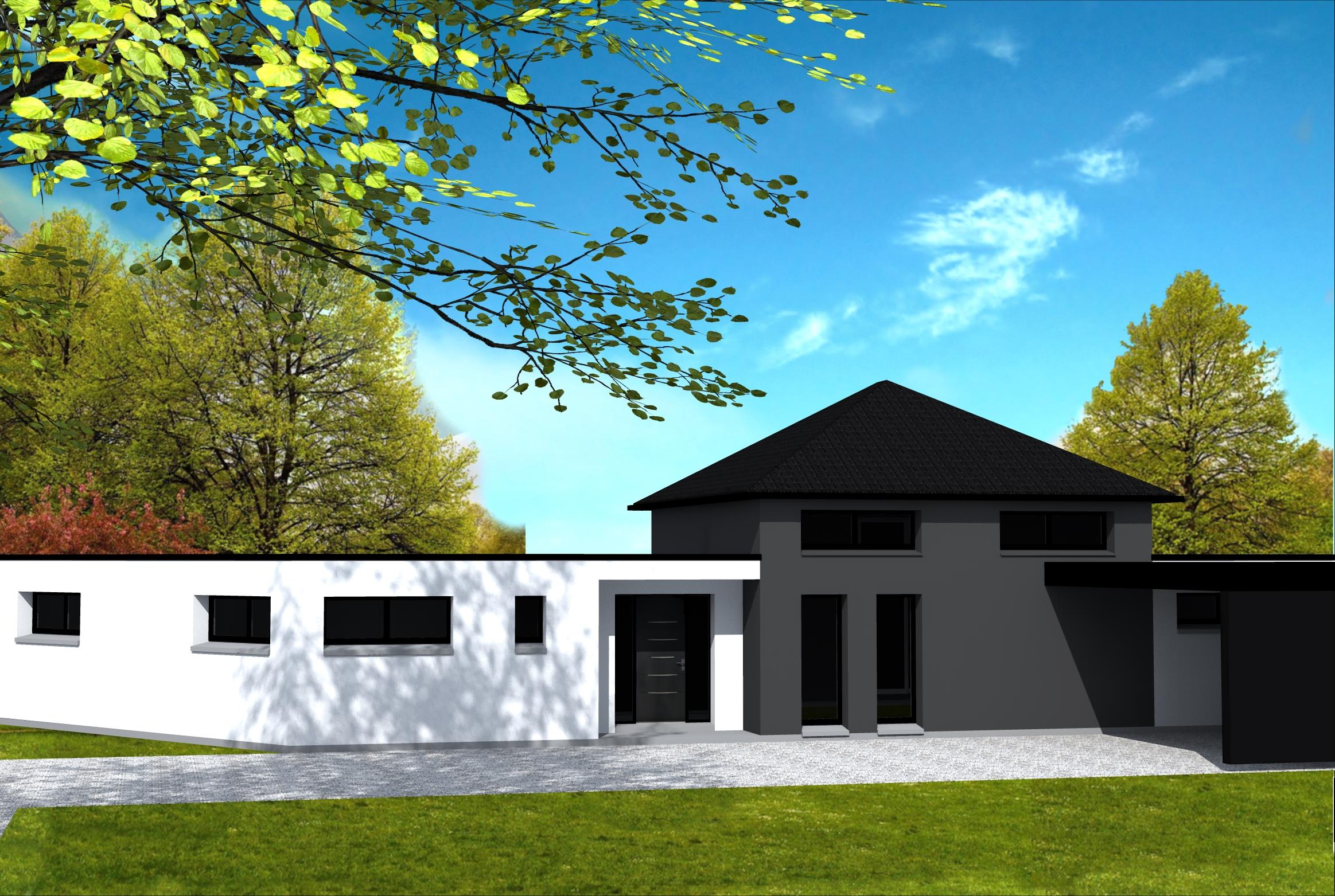 Construire une maison pas trop cher for Plan de maison pas cher a construire