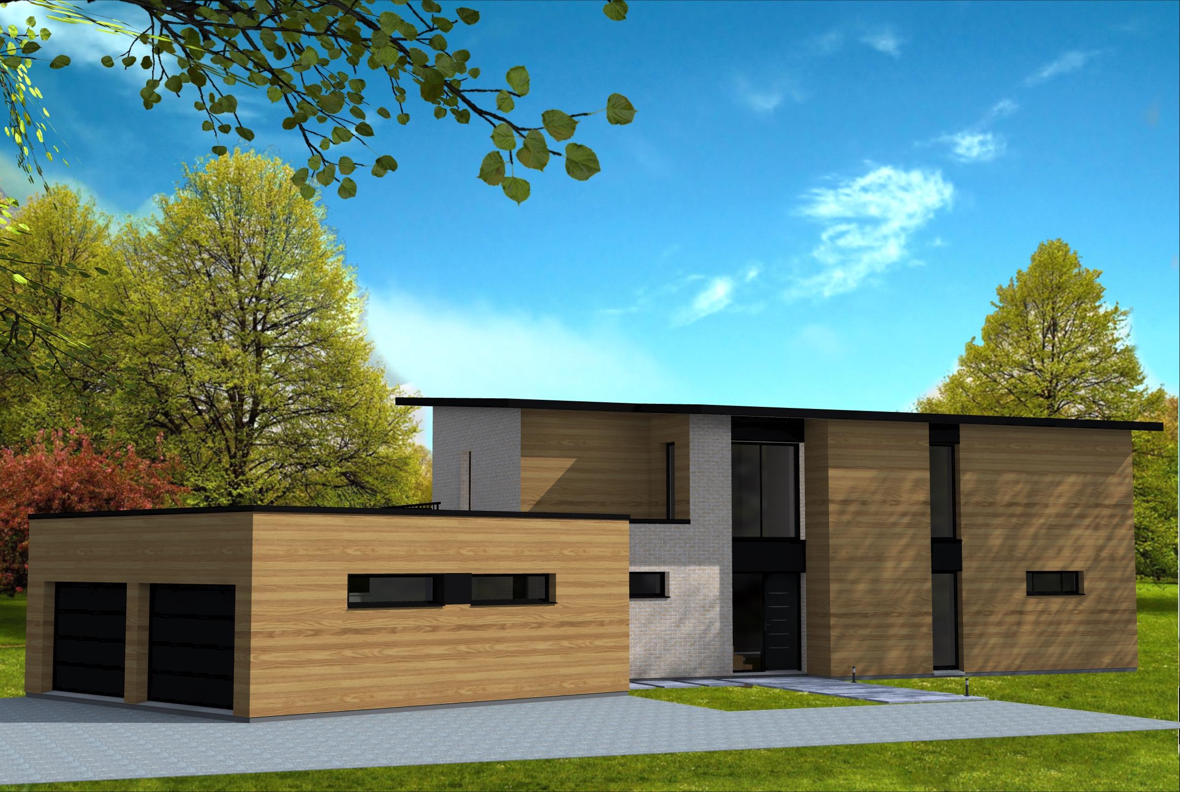 Constructeur maison contemporaine nord pas de calais for Constructeur de maison individuelle nord pas de calais
