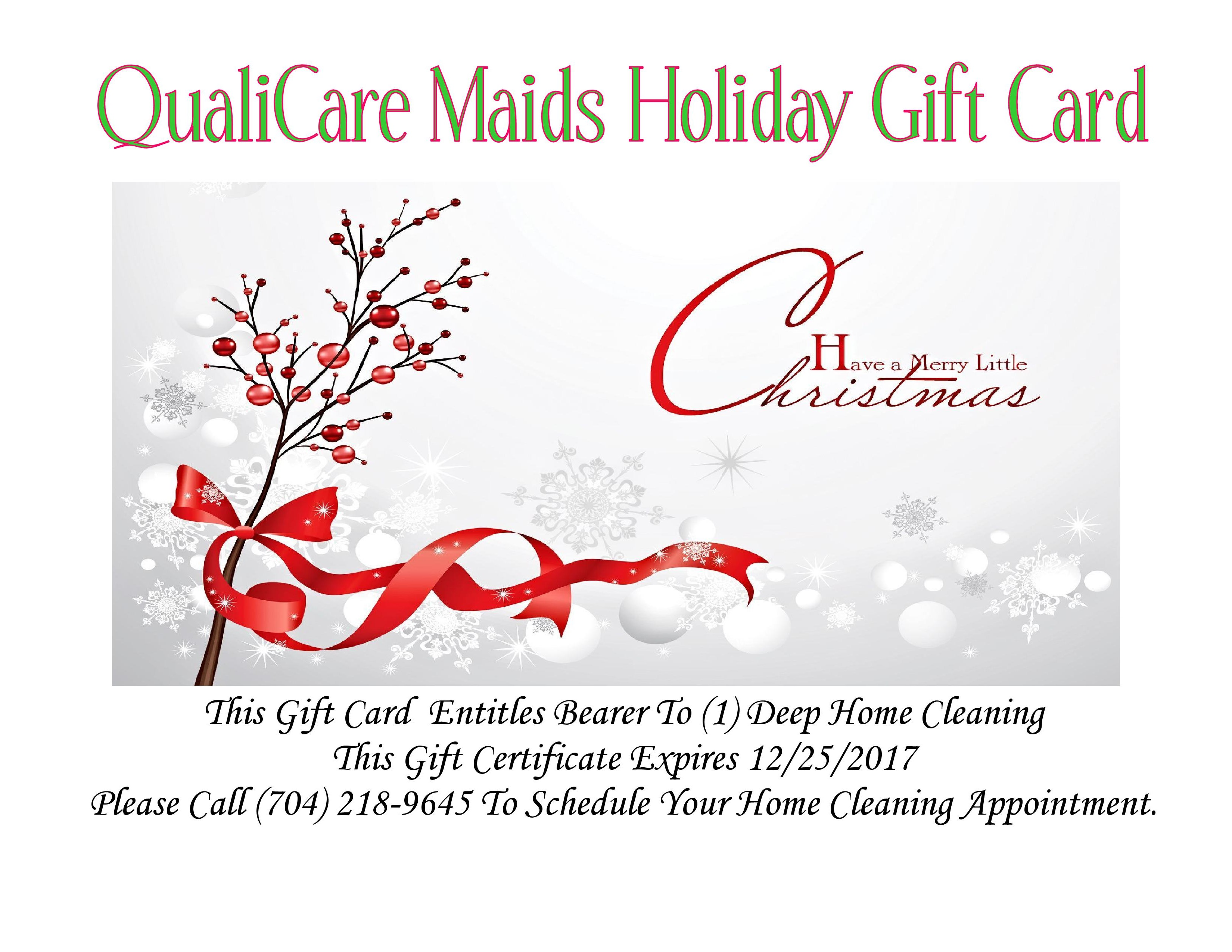 QualiCare Maids Home Cleaning Services Charlotte NC