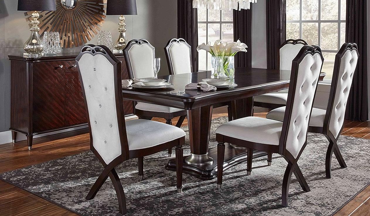 Hollywood dining w serverhome jpg. Najarian Furniture Company  Inc