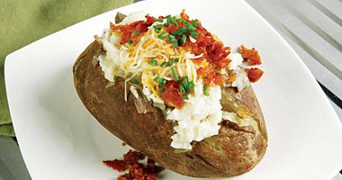 Check ot all of our side items. Baked potatos,macaroni and cheese, salads and more.