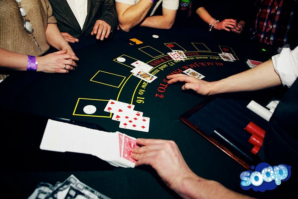 poker croupier hire london