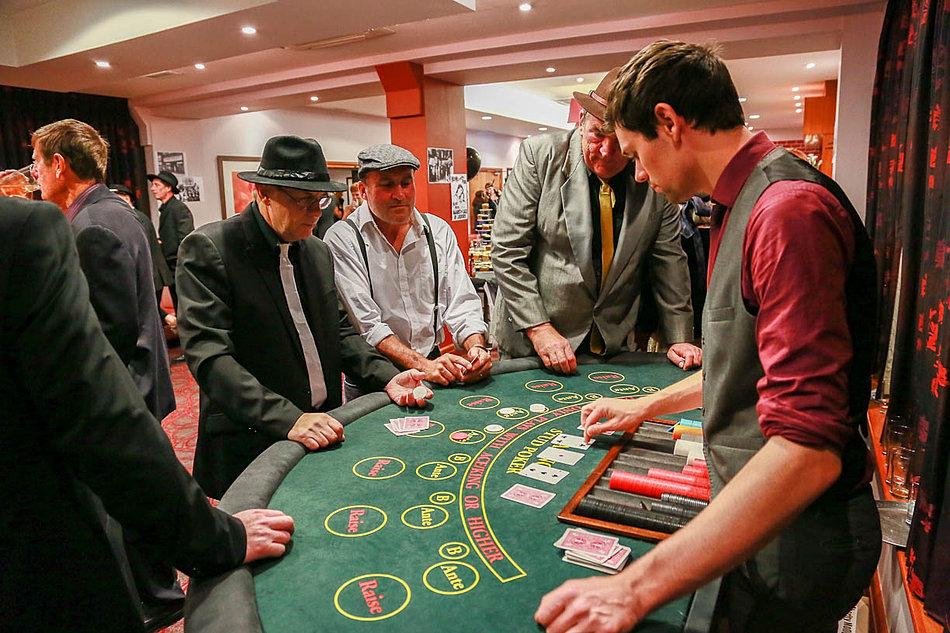 poker croupier hire london