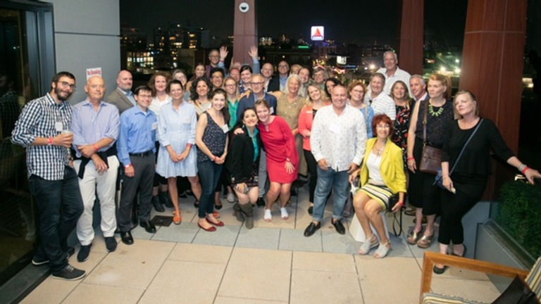 Fenway Alliance group at Last Sunset of Summer benefit