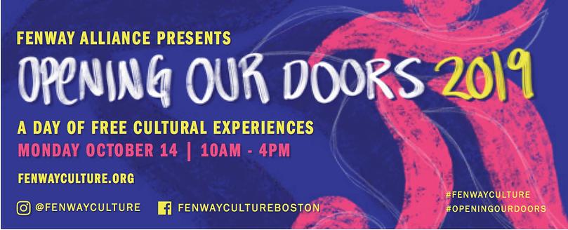 Opening Our Doors 2019 flyer
