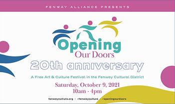 Opening Our Doors flyer