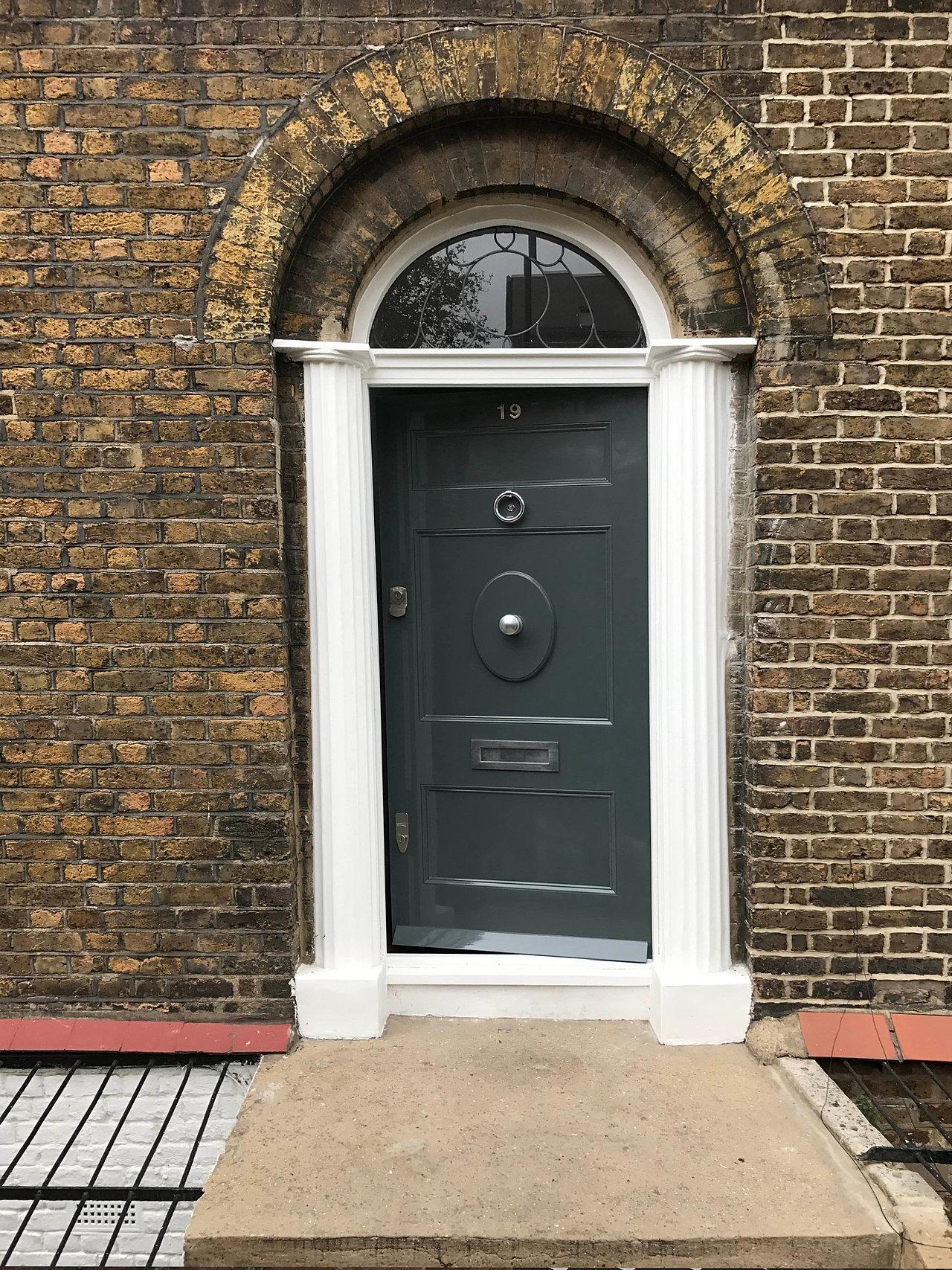 Period front doors for Victorian front doors