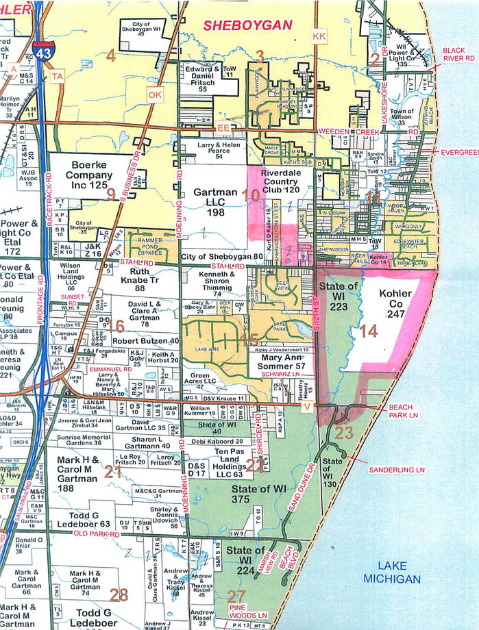 KOHLER GOES AROUND TOWN OF WILSON TO GET ITS WAY KOHLER asks City of Sheboygan to annex proposed course to avoid all accountability to Town of Wilson