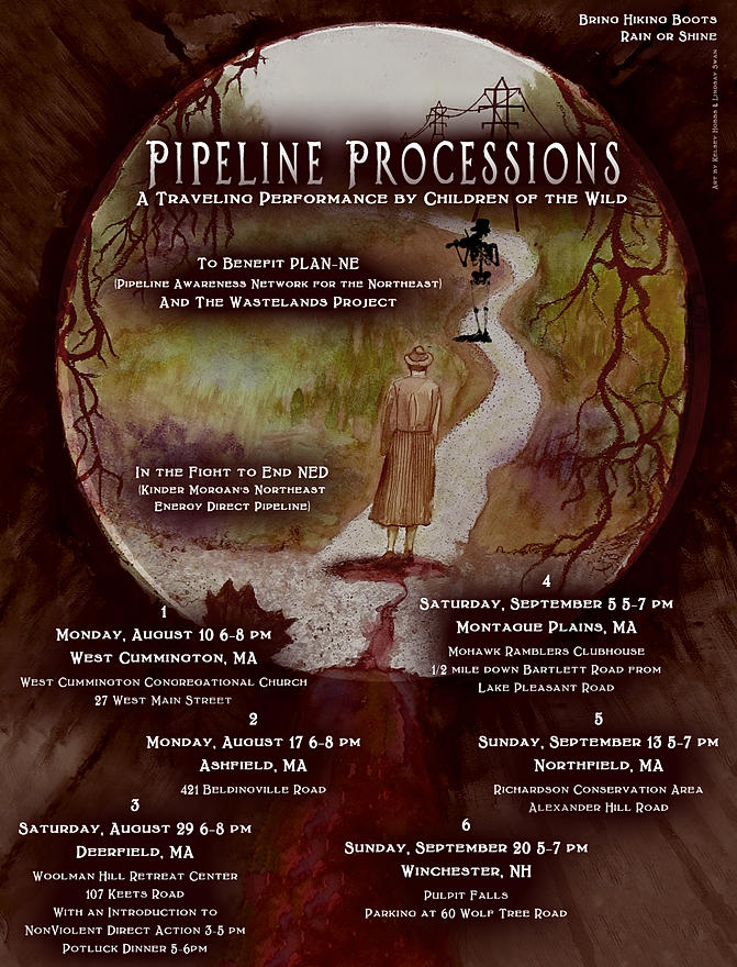 Pipeline processions by Children of the Wild