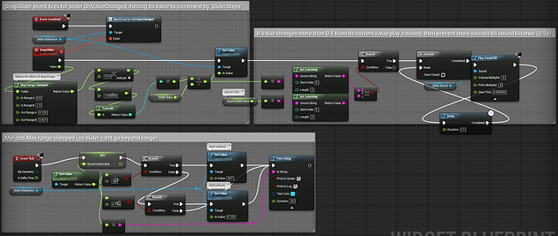 Problems are opportunities slider snapping in ue4 tomofnz i wanted to use a umg slider to simulate tabbed navigation while also still acting as a slider setting up events to switch menu panels driven by slider malvernweather Image collections