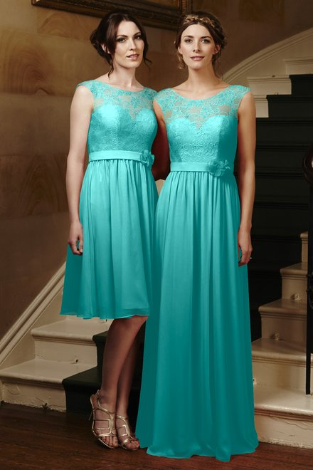 Tiffany blue and coral bridesmaid dresses for Wedding dresses with tiffany blue