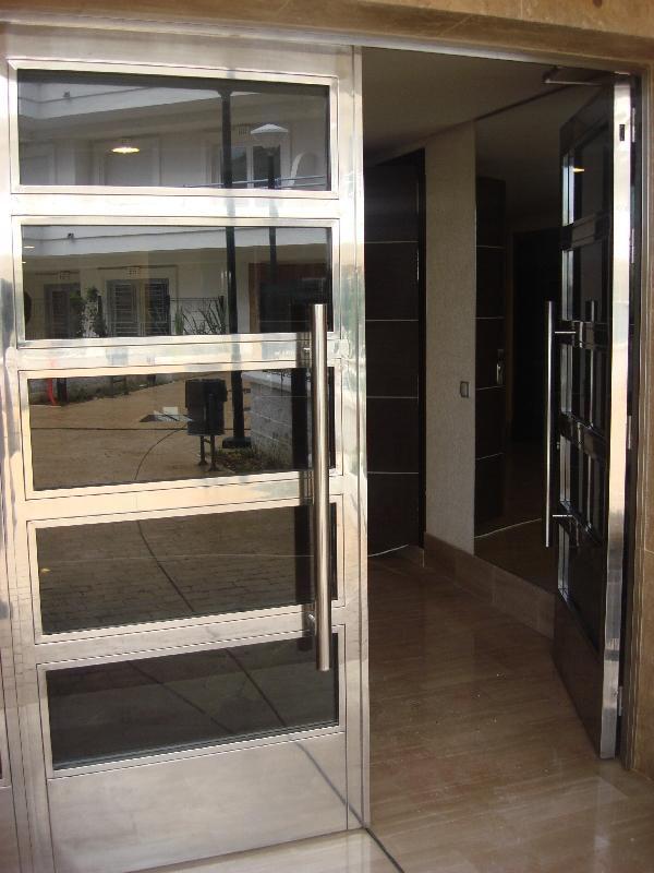 Dj inoxidables herreria en hierro y acero inoxidable for Puertas de herreria modernas precios