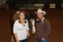 Cristin Kyle and her mentor Ken McNabb