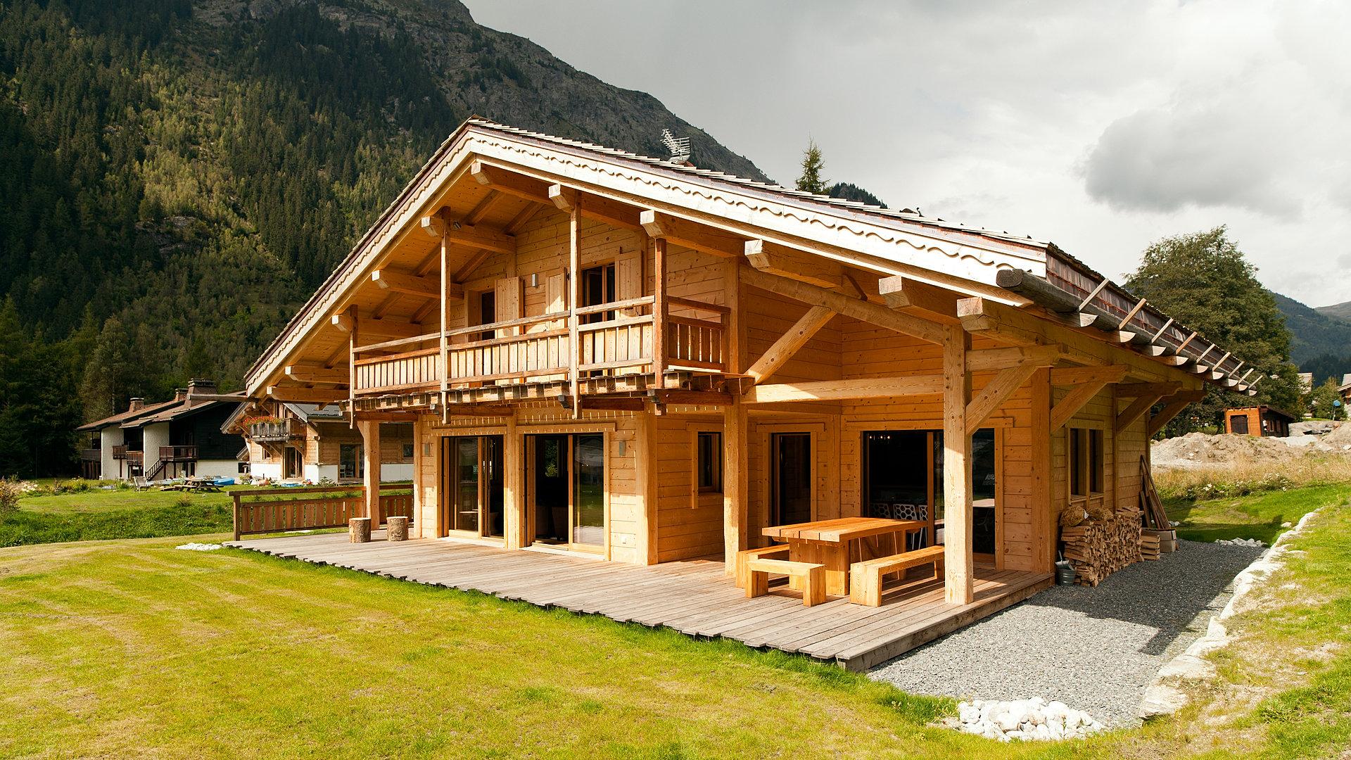 alessandro rovagna architecte maison c chamonix mont blanc. Black Bedroom Furniture Sets. Home Design Ideas