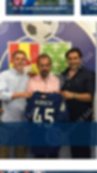 1997 Giss Australian player, now with GerageCF Liga Team, Spain