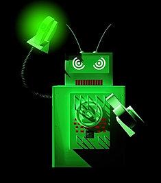 Green Lantern Robot