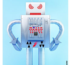 the only robot I know of that reads