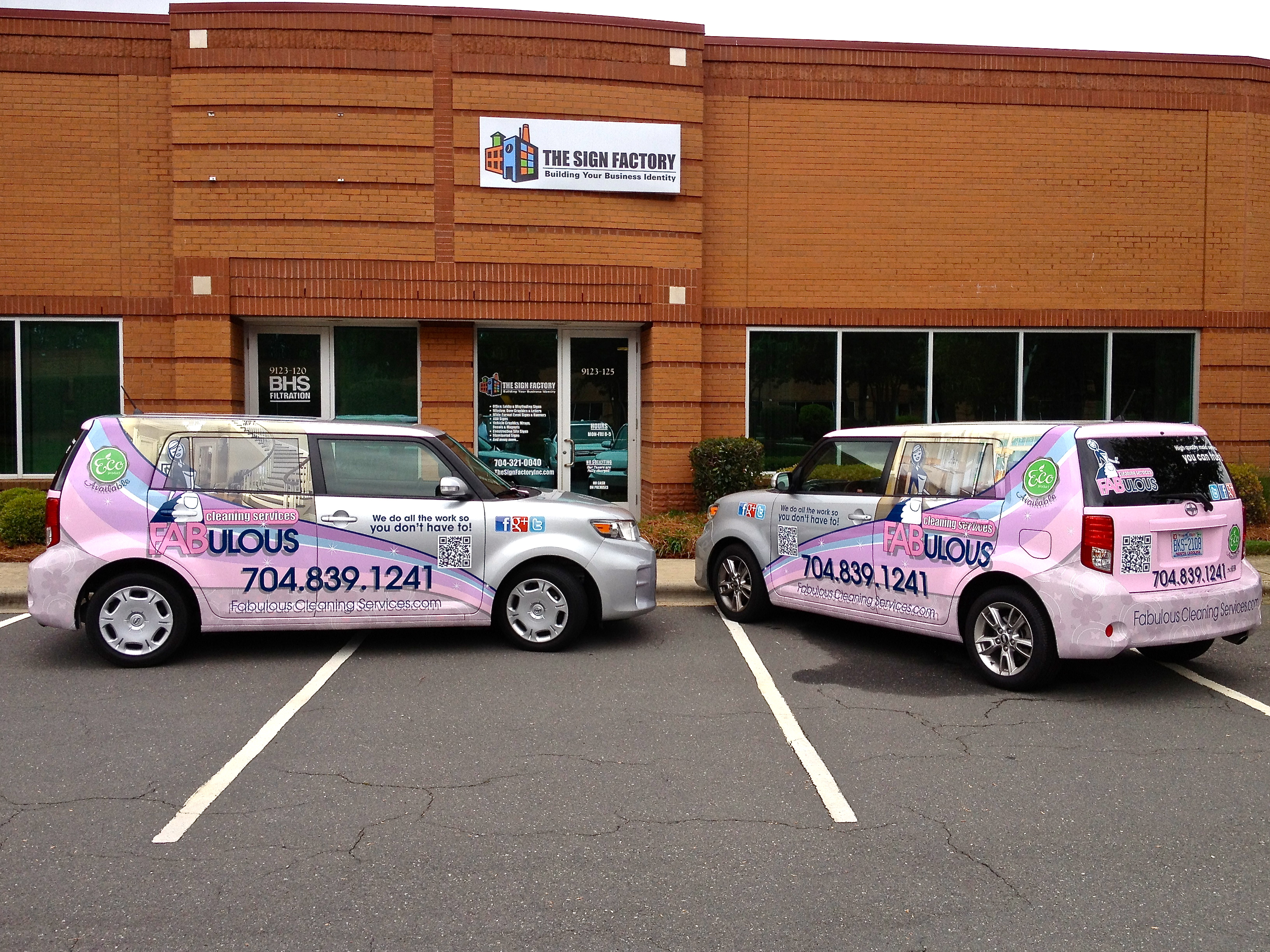Fabulous Cleaning Services Uses Fleet Vehicle Wraps to Brand in ...