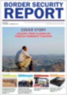 Get the Nov-Dec issue of Border Security Report magazine