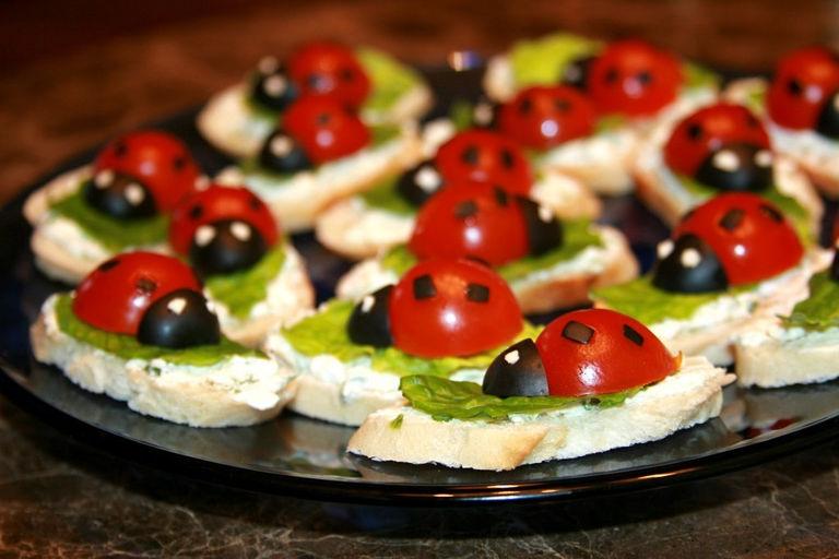 Закуски на детский праздник рецепты с фото