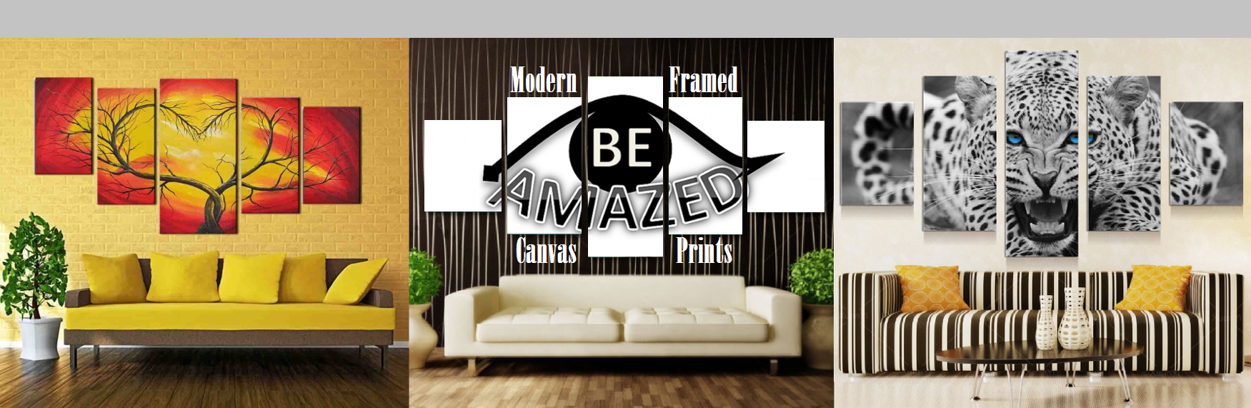Be Amazed Perth Modern Framed Canvas Prints Home Decor Paintings Art