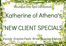 katherine of athena, day spa calabasas, facials in calabasas, new client spa deals, organic facials los angeles, skin care in calabasas, spa deals in calabasas, spa deals in los angeles, deals in conejo valley