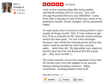 Chicago Household Services Yelp Reviews  Apartment Cleaning Chicago