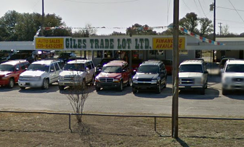 Giles Used Cars Brownwood