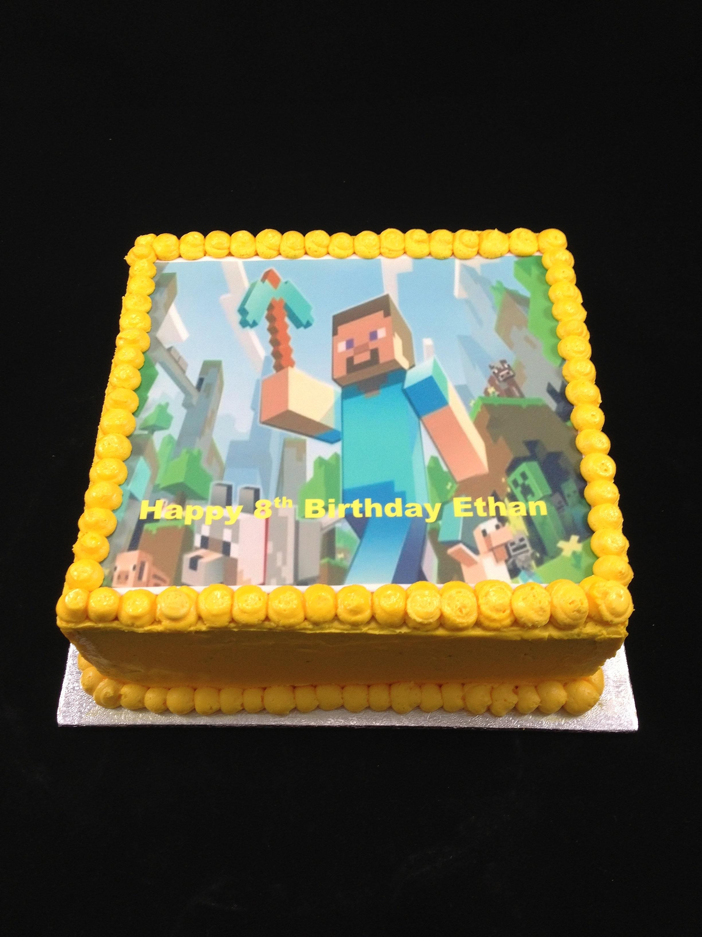 Decorating Ideas > Sensational Cakes Cake Decorating Classes Sydney  ~ 024119_Cake Decorating Ideas Minecraft