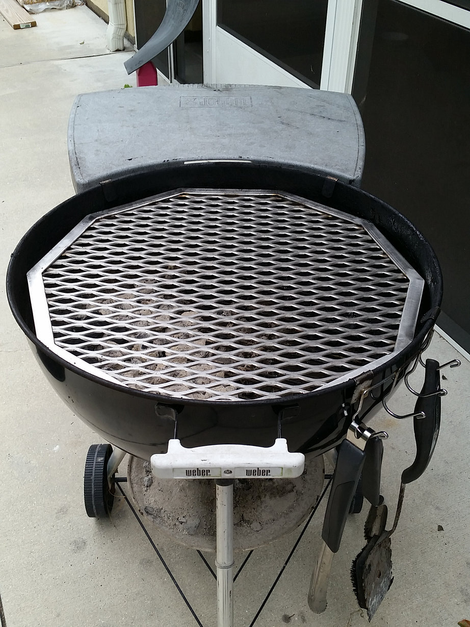 Custom Made Bbq Grates Expanded Metal Grates Stainless