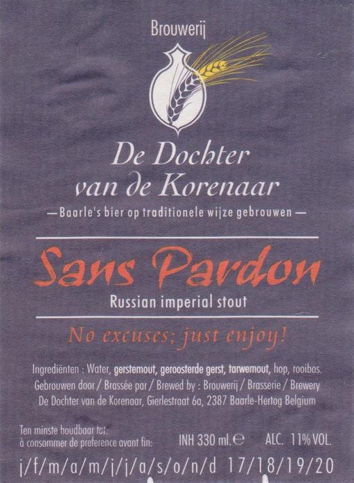Afbeeldingsresultaat voor korenaar sans pardon logo