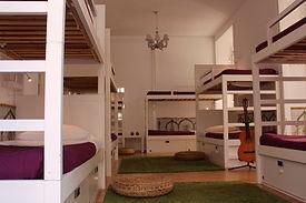 10 bed dorm in Lisbon
