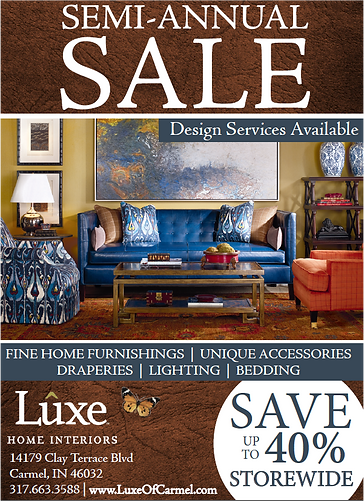Current Promotions At Luxe Home Interiors