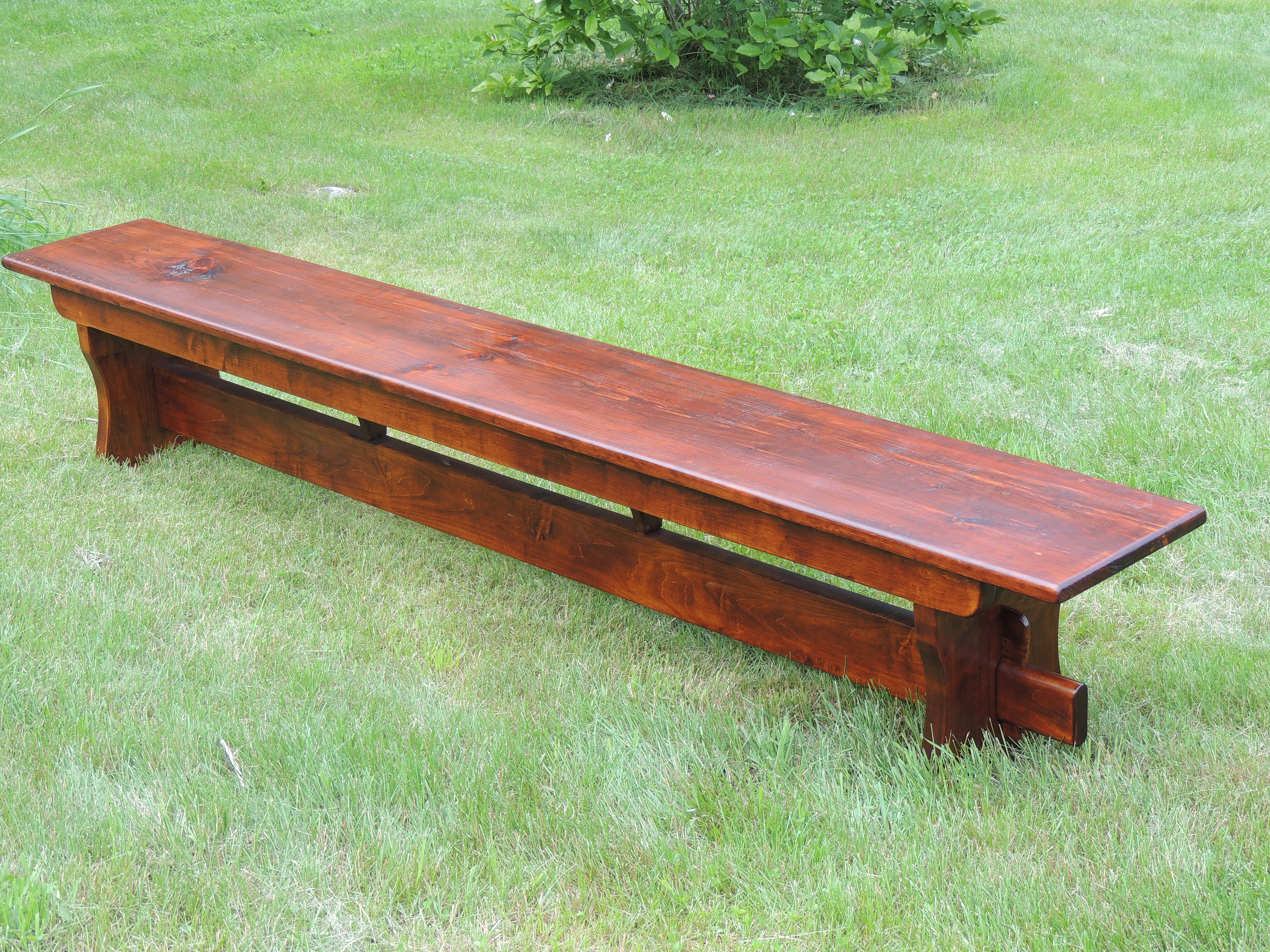 Wood farm tables new england joinery essex ma 9ft bench