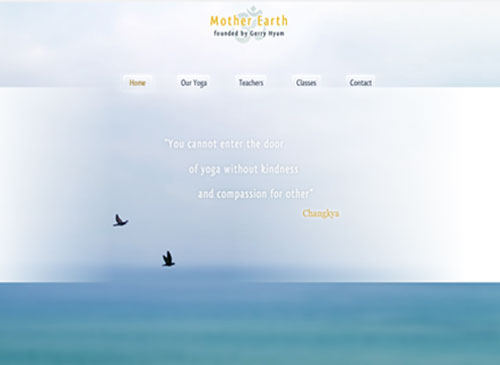 Earth Yoga Template - This Modern looking Website template is easy to customize and lets you present all the products and offers that your customers are looking for in real time. Just edit to make it your own in no time at all