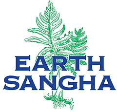 logo for Earth Sangha