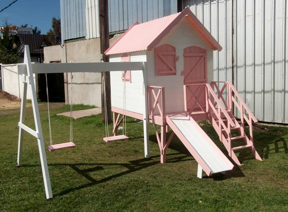 Casitas infantiles de madera imagui for Casita de juegos para jardin
