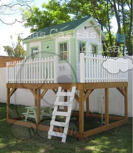 Spyd parques parques infantiles barranquilla casitas de - Casas madera ninos jardin ...
