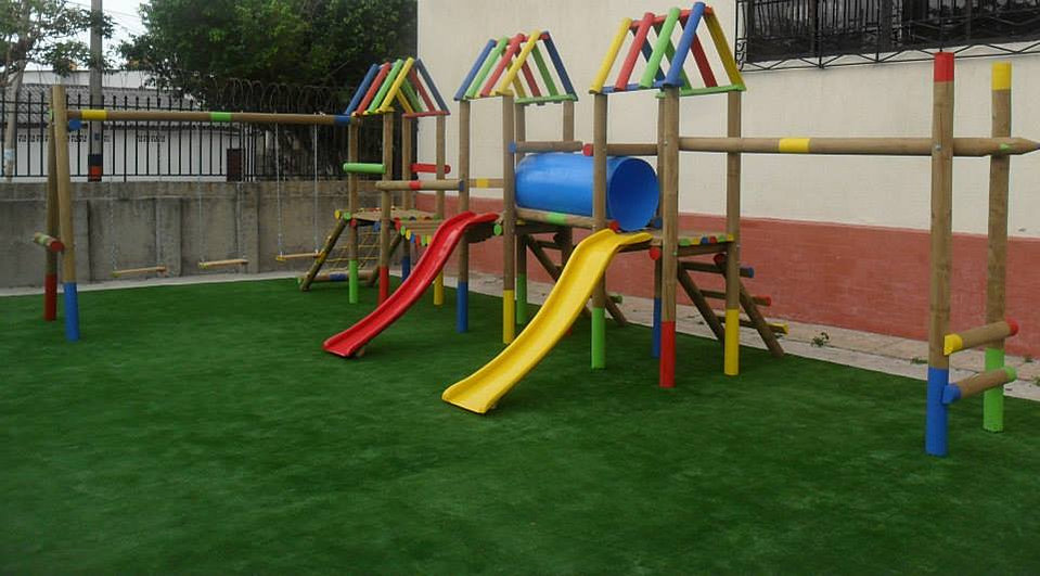 Parque de madera parque naturaleza madera cuerda de madera parques en madera solufibra parque - Parque infantil de madera ...