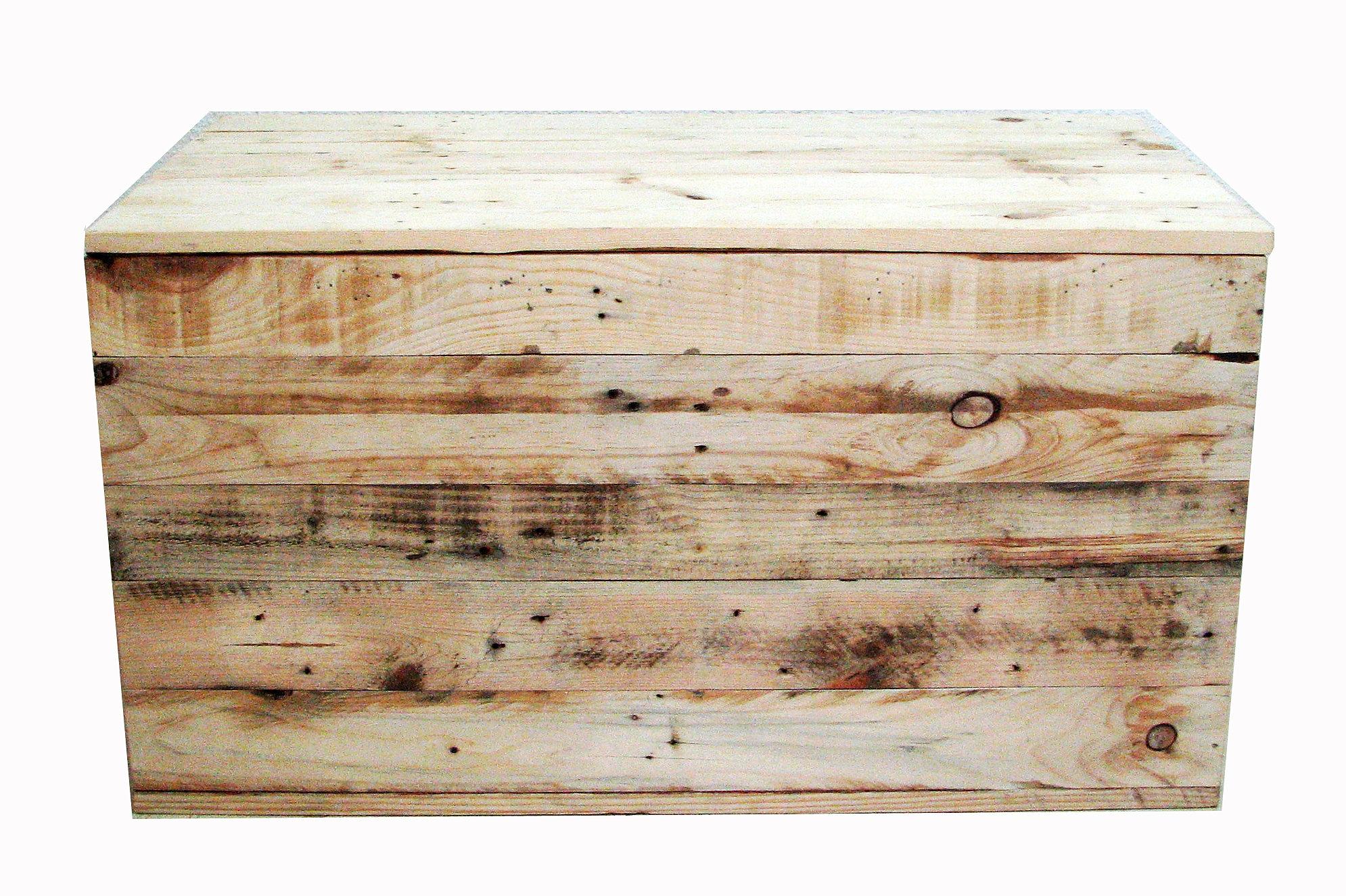 Muebles con madera reciclada de palets muebles a medida for Medidas de palets de madera