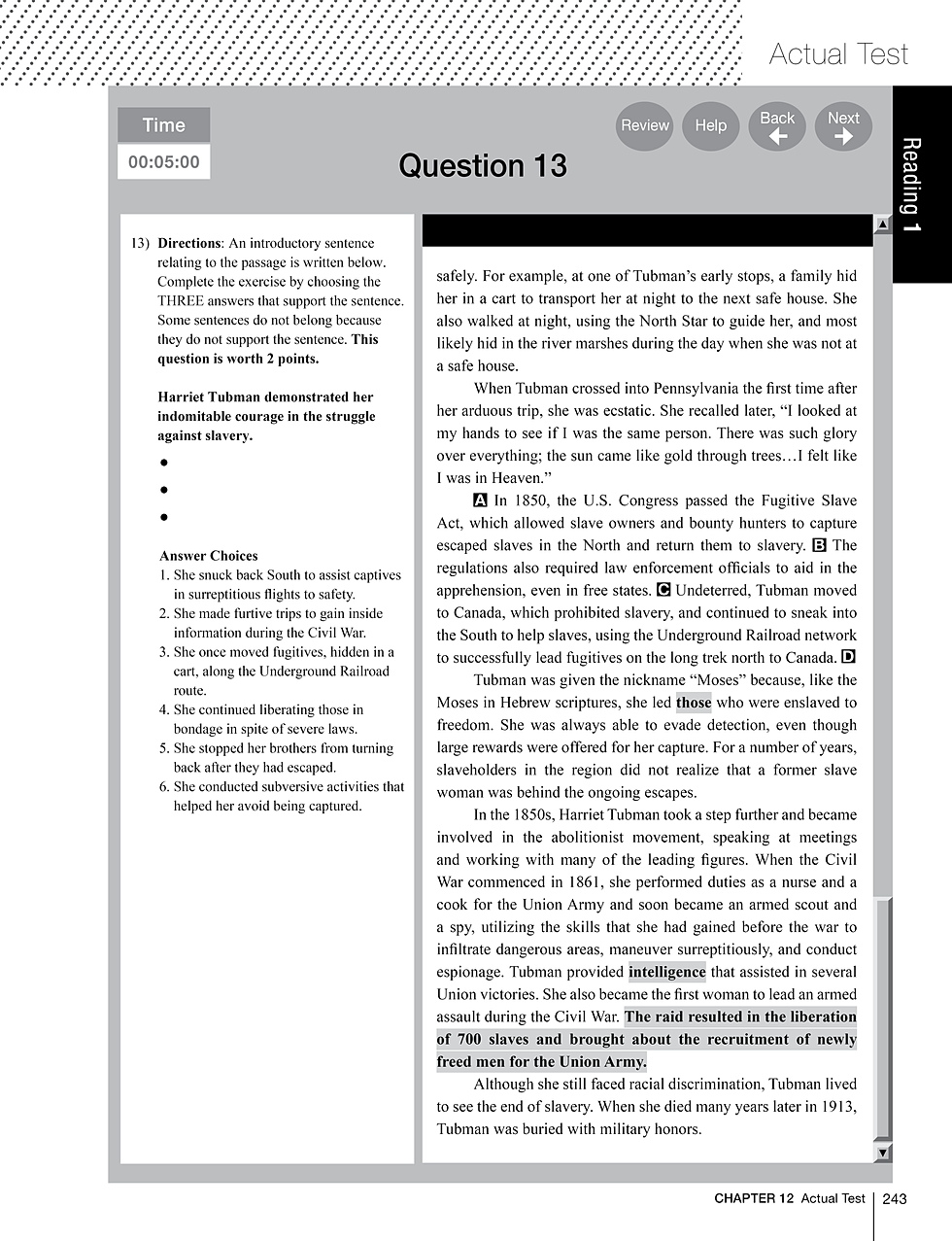 worksheet Harriet Tubman Worksheets all grade worksheets harriet tubman diagram collection 12 reading level download more maps
