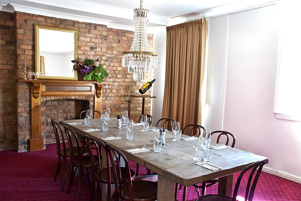 Birthday venues brisbane the alliance hotel for Best private dining rooms brisbane